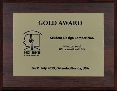 Brilliant Student Design Competition Awards Hci International 2019 Download Free Architecture Designs Pushbritishbridgeorg